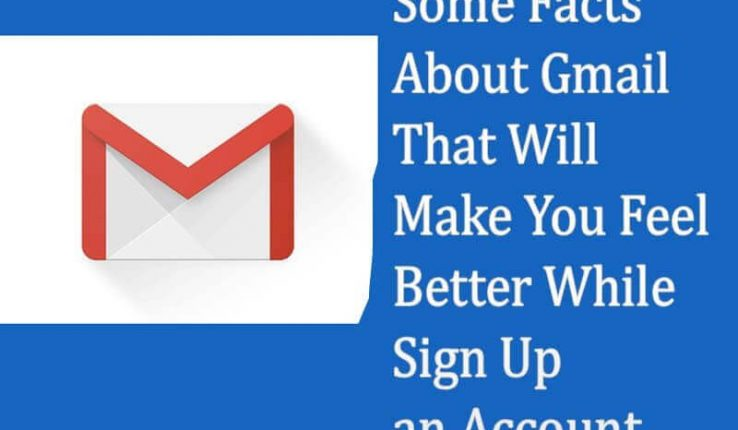 Gmail Sign up Facts
