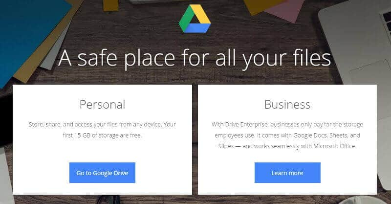 User Guide For Google Drive