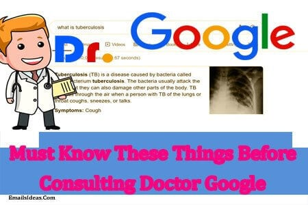Must Know These Things Before Consulting Doctor Google