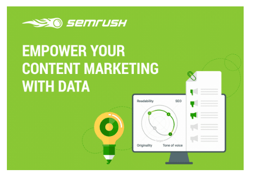 semrush empower your content marketing