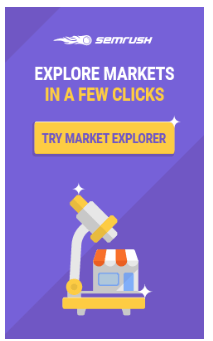 explore markets in a few clicks