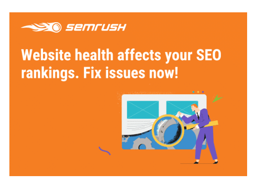semrush website health