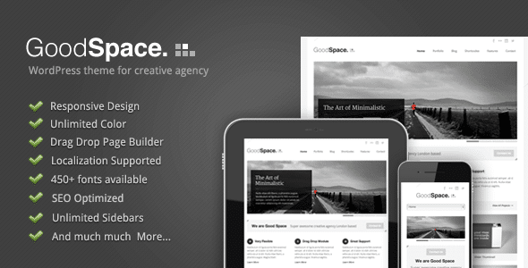Good Space theme wordpress