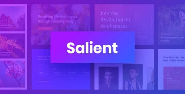 Salient theme wordpress